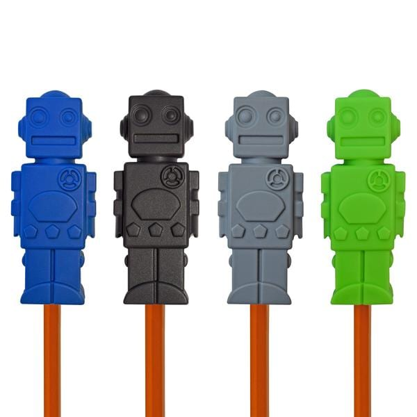 Munchables Sensory Pencil Toppers - Robot