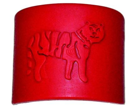 Tactile Tiger Chewable Arm Band Red