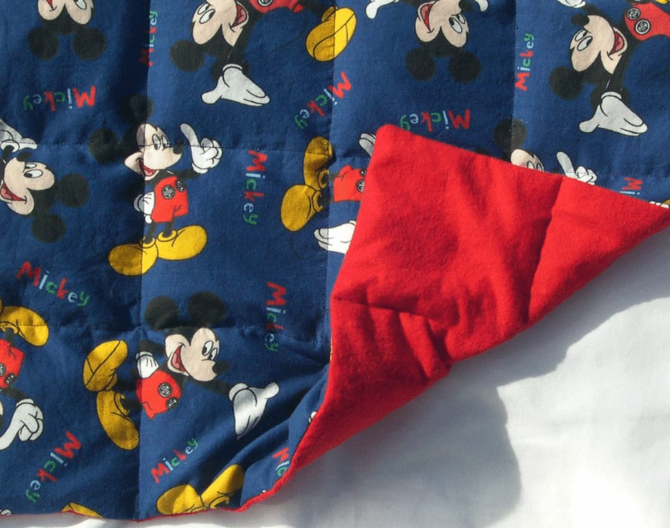 Printed Weighted Lap Pad Micky Mouse