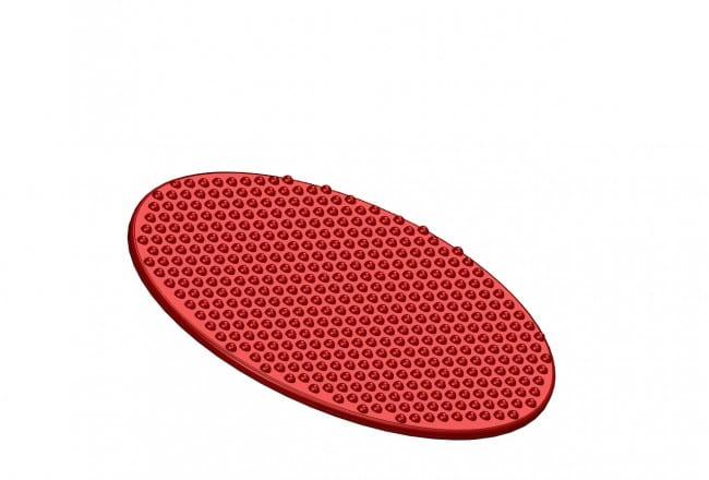 Sensory Seat Pad Red