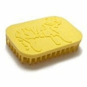 Tiger Hand Fidget Sensory Brush Yellow
