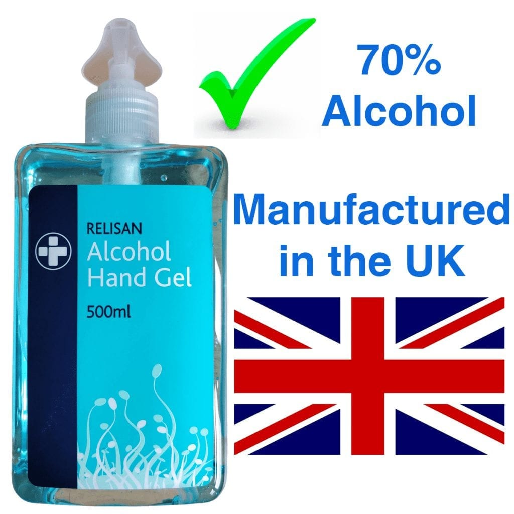 Reliance Medical 70% Alcohol Hand Sanitiser