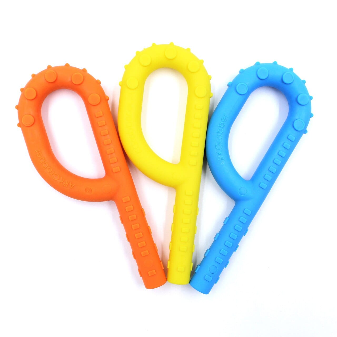 ARKs-Textured-Grabber-P-Tube-Hollow-Chew-Tool-orange-yellow-blue